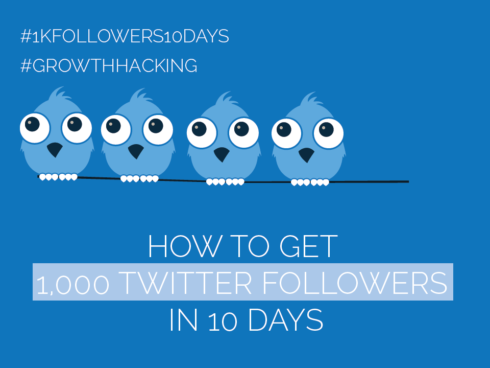 #Twitter Day 4 – Get 1,000 Twitter Followers in 10 Days [#1kfollowers10days #GrowthHacking]