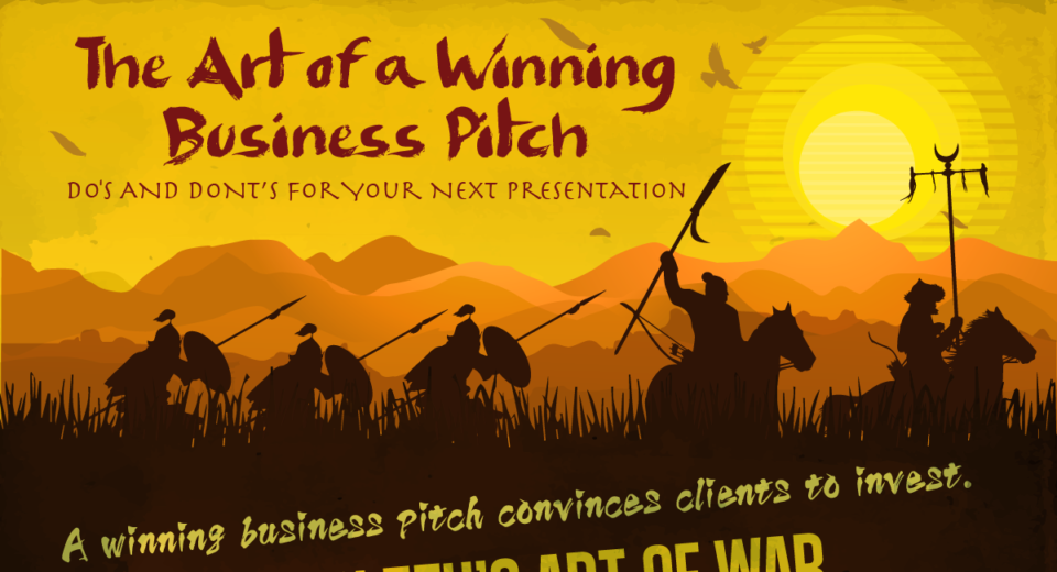 The Art of a Winning Business Pitch: Do's and Dont's for Your Next Presentation [Infographic]