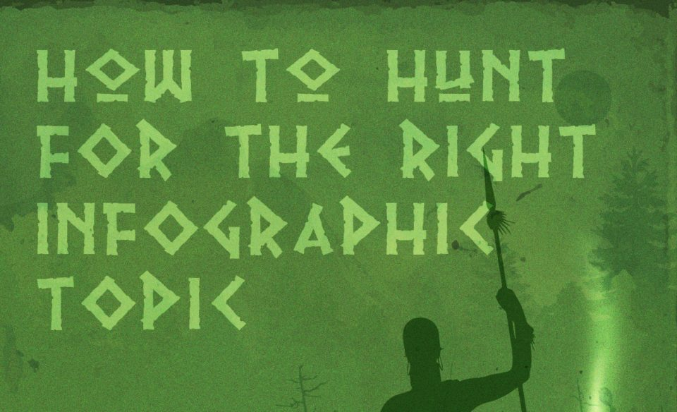 How to Hunt for the Right Infographic Topic [Infographic]