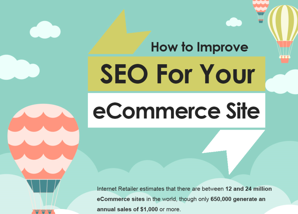 How to Improve SEO for Your eCommerce Site [Infographic]