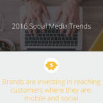 Social Media Trends in 2016 [Infographic]