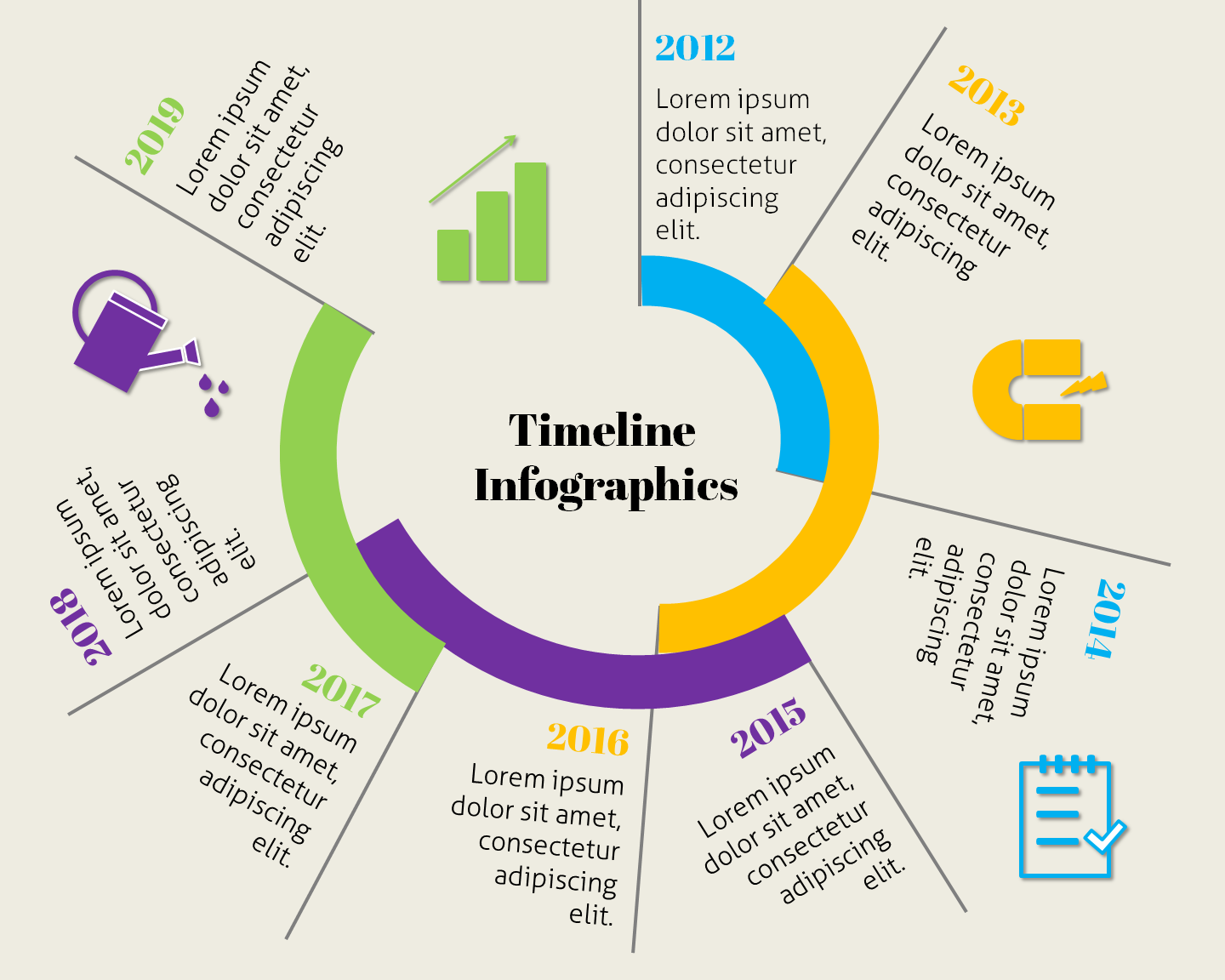 powerpoint timeline infographic templates